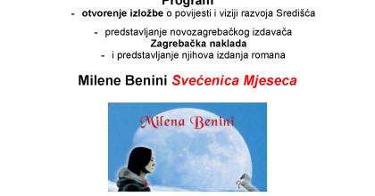 """Pridružite nam se na Danima Središća i promociji romana """"Svećenica Mjeseca"""""""