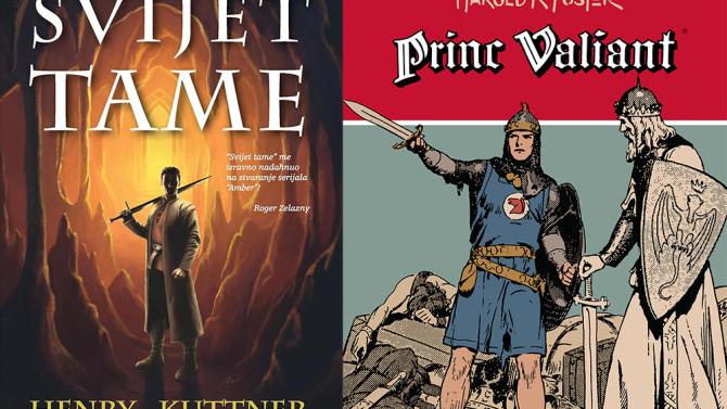 """Princ Valiant 11. knjiga i """"Svijet tame"""" Henryja Kuttnera"""