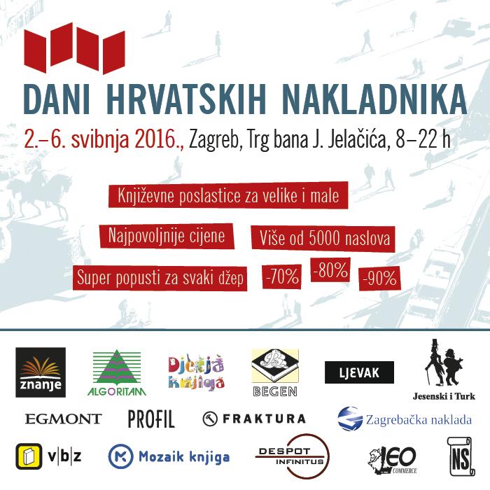 Dani hrvatskih nakladnika 2016 banner 700x700px