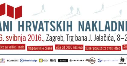 Dani hrvatskih nakladnika - 2. - 6. svibnja